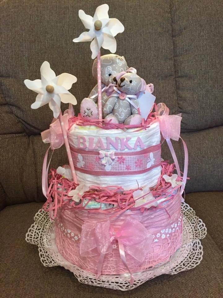 Bianka habos-babos tortája.