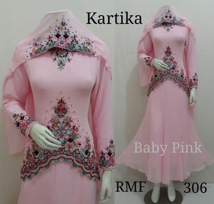 Kaftan dress - Muslim Dress - Muslim Wedding Dress - Abaya Maxi Dress - Moroccan Kaftan - Dubai Kaftan - Fancy Abaya - Kartika Dress by Mustikacollection on Etsy