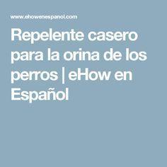 Repelente casero para la orina de los perros | eHow en Español