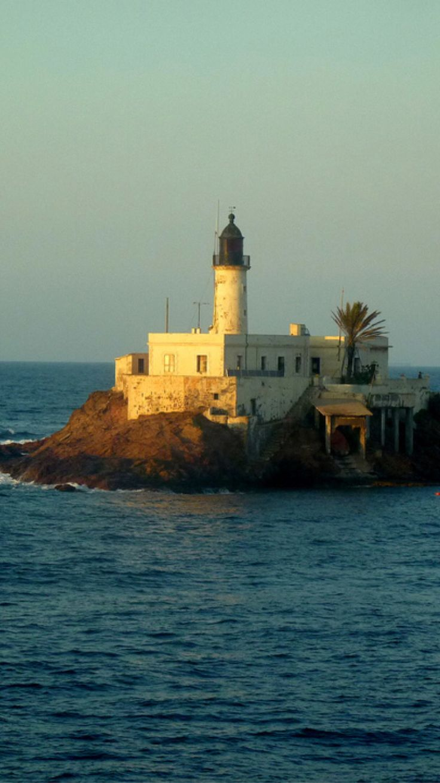 Arzew's Lighthouse, Oran, Algeria- by Maya-Anaïs Yataghène
