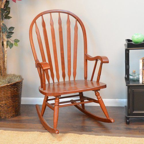 Charlton Home Five Acres Rocking Chair