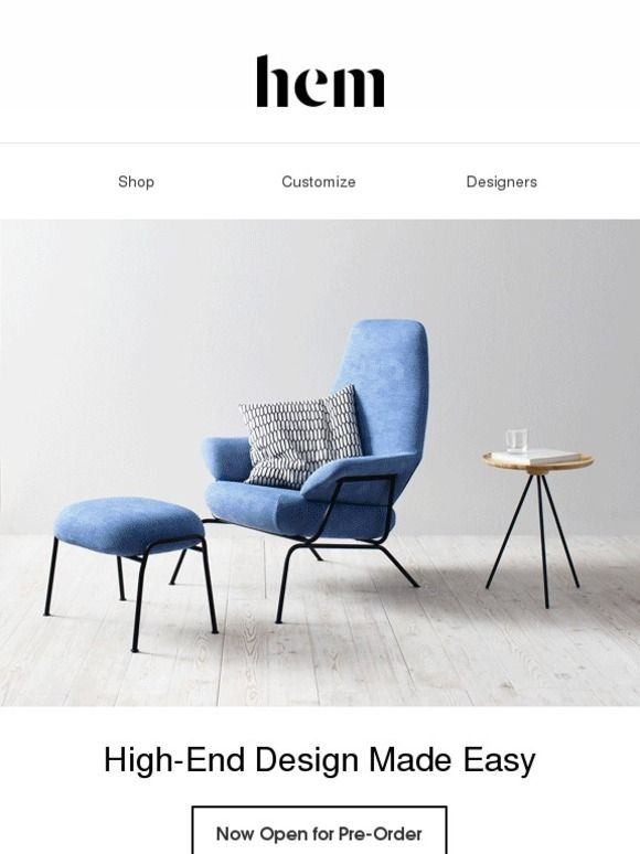 Fab invites you to the launch of Hem.com. Now open for pre-orders - Fab.com