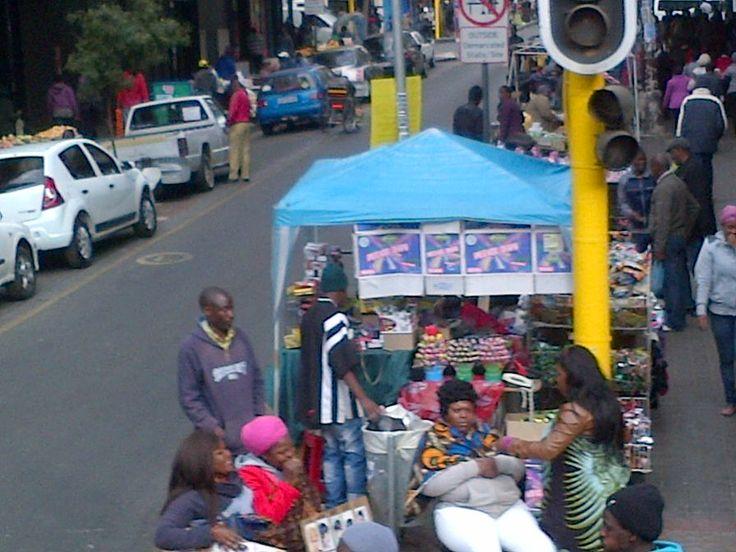 jhb city centre - street vendors