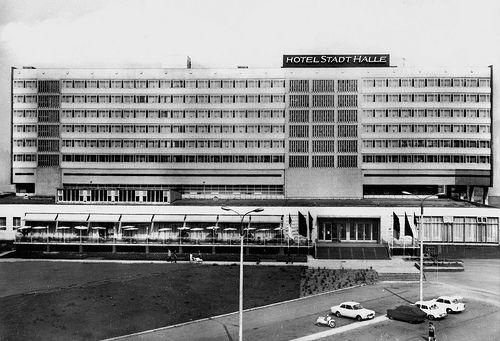 Halle/Saale, Hotel Stadt Halle, 1968