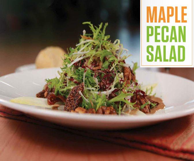 Maple Pecan Salad | Spooky Nook Sports