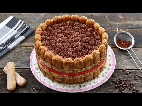 Tort tiramisu cu ciocolata - reteta video | JamilaCuisine