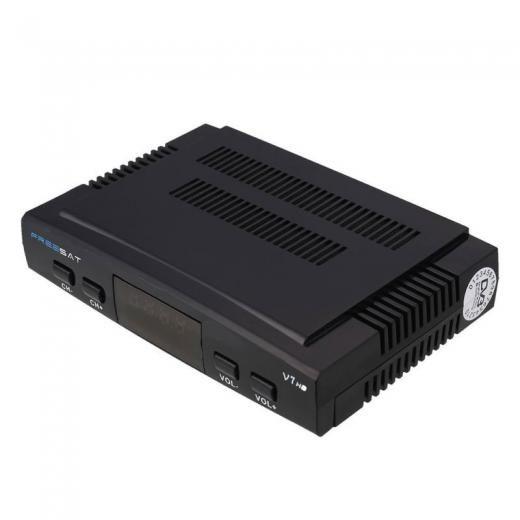 1080p Satellite Tv Receiver Box Dvb-s2 Pvr Usb Wifi W/ Remote + Us Plug Adapter