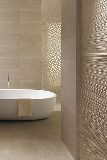 A pearl coloured bathroom? Could look too beige?