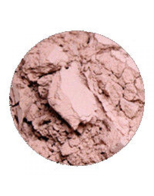 Erth Minerals Rose Shadow har en dus og lett skimrende rosafarge. Perfekt til hverdags.
