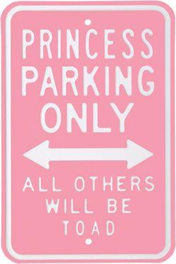 Princess street sign
