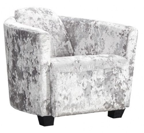 The BROCKTON accent #chair in a shimmering #velvet #fabric