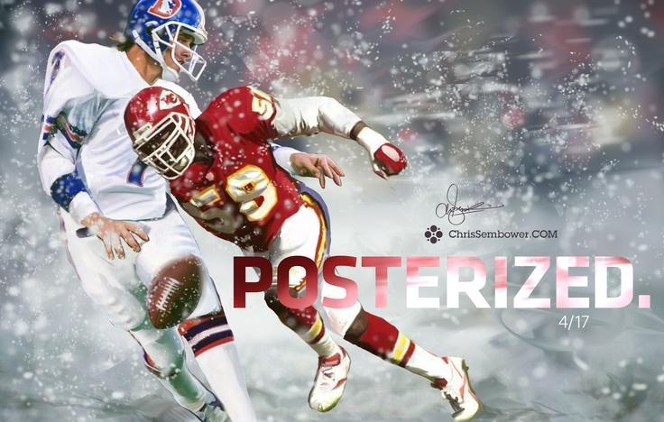 Derrick Thomas - So amazing at the LB position..