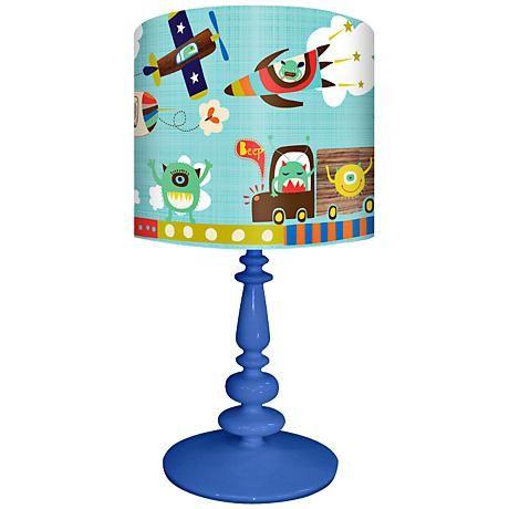 Alien Invasion Children's Table Lamp