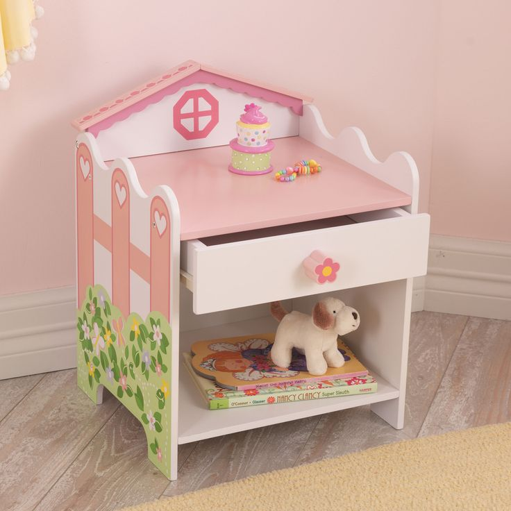 Toddler Beds Online - Dollhouse Side Table, $54.99 (http://www.toddlerbedsonline.com/dollhouse-side-table/)