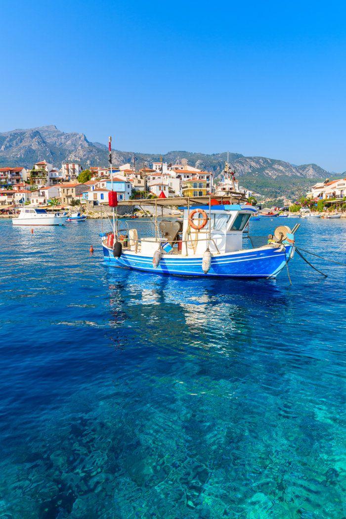 Kokkari, Samos, Greece.