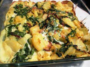En verden af smag!: Flødekartofler med Mandler og Rucola