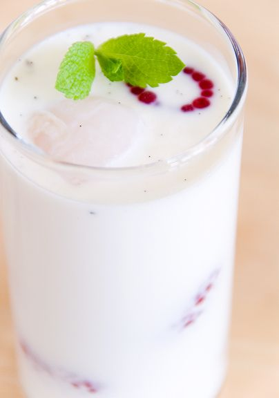 lychee panna cotta...because you are Vietnamese