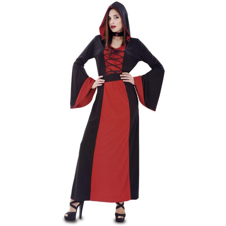 Disfraz de Hechicera Roja #disfraces #halloween
