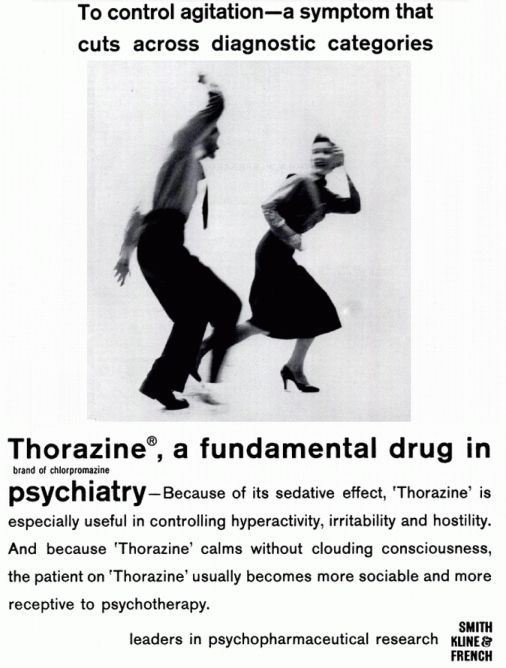 The Drug Chlorpromazine Has Its Effect By