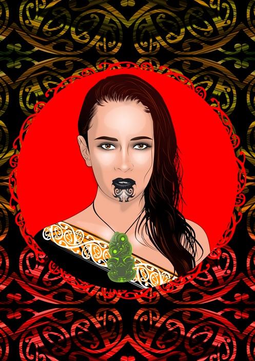 Matariki / Seven Sisters / Maori  http://www.onesian.com
