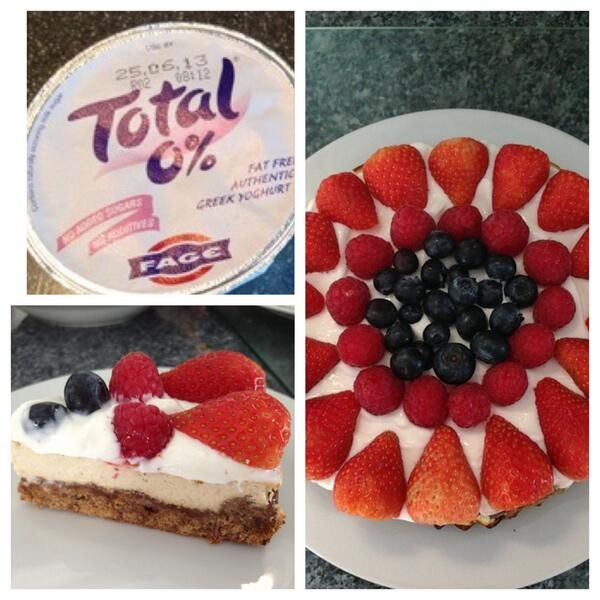 Yes, you can have your cheesecake and eat it! How heavenly does this look? Props to @Nicola ainsworth!