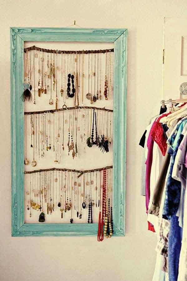 37 ιδέες για να επαναχρησιμοποιήσετε τις παλιές κορνίζες!