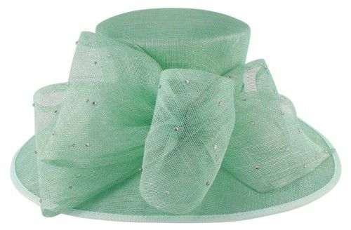 20% OFF - Elegance Collection Diamante Events Hat