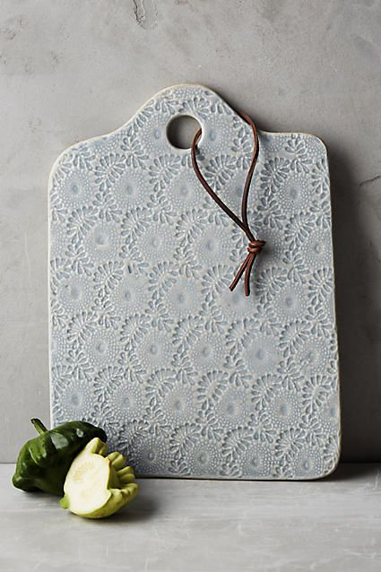 Ceramic Lacework Cheese Board Idea for Christmas gift for Jen and Bruce
