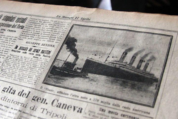 Titanic – The Artifact Exhibition - in esposizione presso Promotrice delle Belle Arti