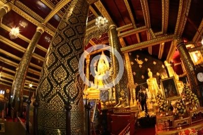 Phra Buddha Chinnarat Wat Phra Si Rattana Mahathat, Phitsanulok Thailand - Free images , Free Photos , Free Pictures , รูปภาพฟรี - imagesthai.com royalty-free stock images ,photos, illustrations and vector