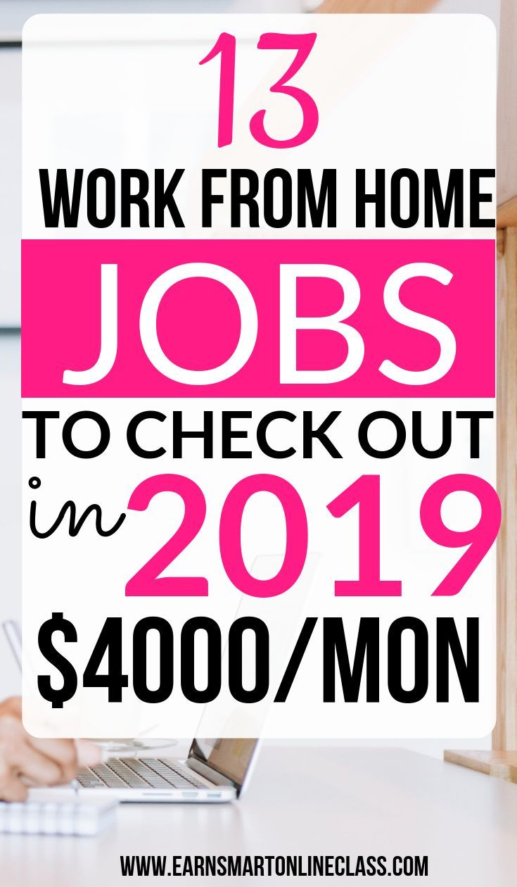 18 Legitimate Work From Hom Jobs to Check Out in 2019
