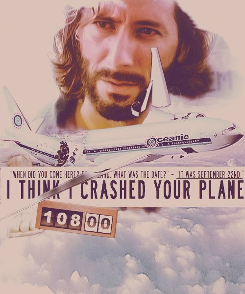 I think I crashed your plane-one of my Ll time favorite shows....until the last episode