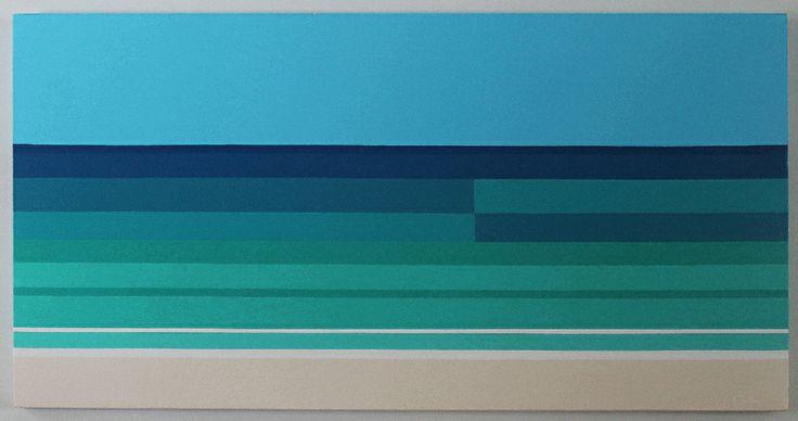 "Saatchi Art Artist: Claudia Bastien; Acrylic 2013 Painting ""The caribbean"""