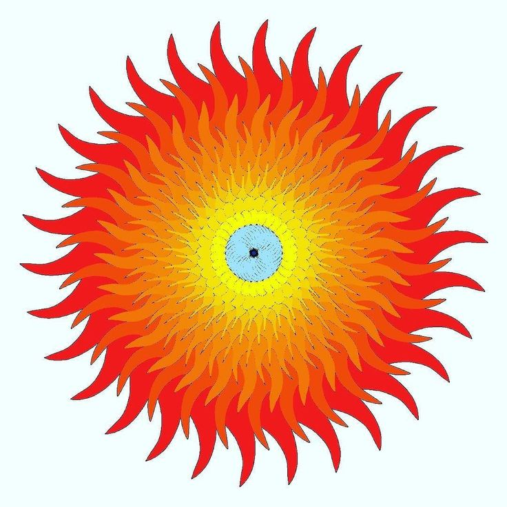 The #sun of last #summer had a #blue #eye - #digital #drawing