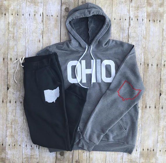 Ohio sweatshirt Ohio hoodie OSU shirt Ohio State hoodie ohio
