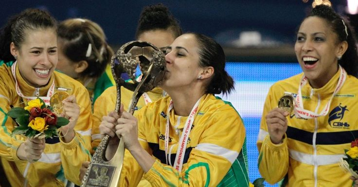 Women's Handball World Championship 2013 - Brazil x Serbia.
