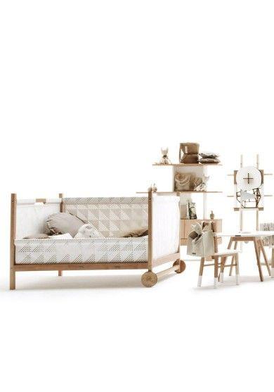 Kołyska Oriente - najpiękniejszy design dla dzieci. Kolekcja mebli Krethaus.