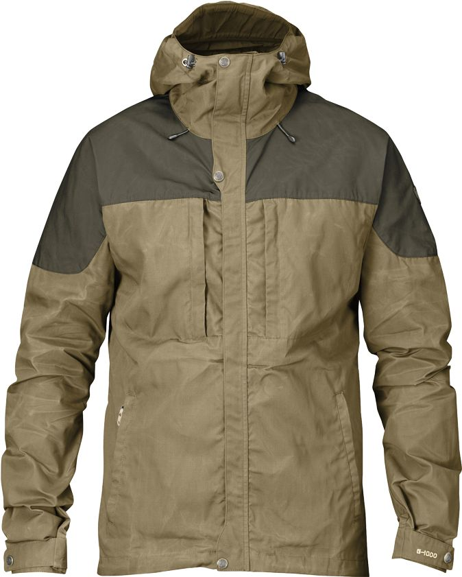 Sizes and Details Sizes: XS-XXL Material Fabrics: G-1000® Original: 65% polyester, 35% cotton G-1000® Lite: 65% polyester, 35% cotton Weight: 613g in size M Features - Mid length trekking jacket, tail