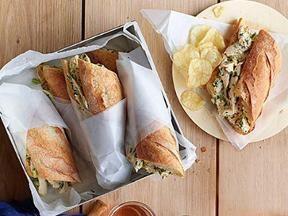 Good network roast chicken salad sandwiches
