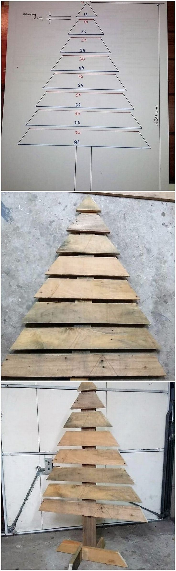It would give such a impressive appearance by putting together the arrangement of the wood pallet for the ideal Christmas tree creation outside the home gate. It will appear so classy and modish too as you can make its favorable use for the house decoration purposes.