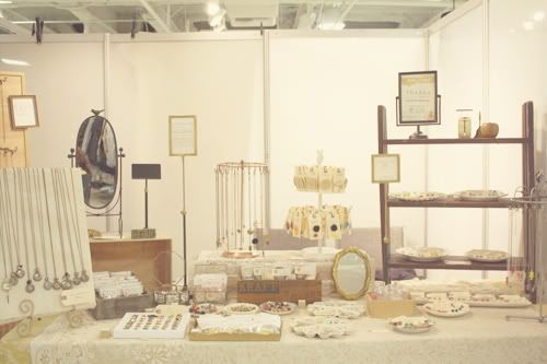 someday I'll have enough time to make enough of my projects to have a booth at a craft show like Unique LA.