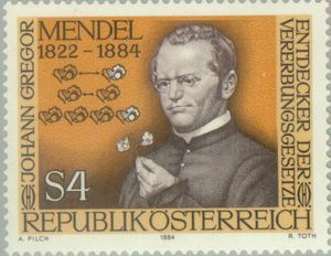 Johann Gregor Mendel, 100th day of his death