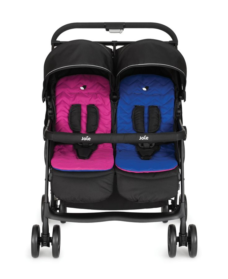 Joie Aire Twin Stroller – Pink/Blue