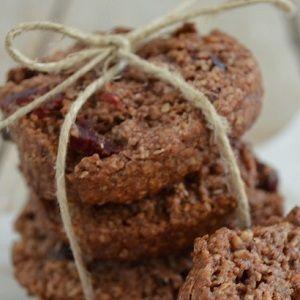 Σούπερ υγιεινά μπισκότα με ταχίνι μέλι και κακάο έτοιμα σε 10 λεπτά (χωρίς ζάχαρη χωρίς αλεύρι!)