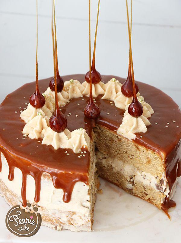 Le layer cake 100% caramel va vous faire fondre !