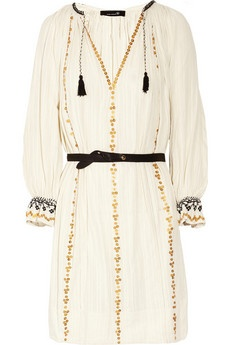 isabel marant: Folk Inspiration, Style Inspiration, Cotton Dresses, Marant Joan, Joan Sequins, Sequins Cotton, Isabel Marant, Inspiration Fashion, Marant Dresses