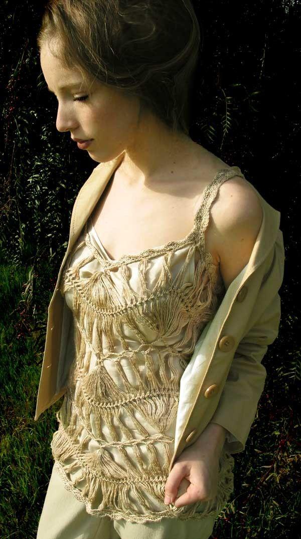 Hairpin lace dress patterns