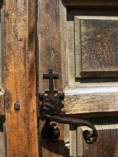 Mission door Texas ~ Cross at the Top of the handle & 191 best Keys To Your Home images on Pinterest | Door handles Old ...