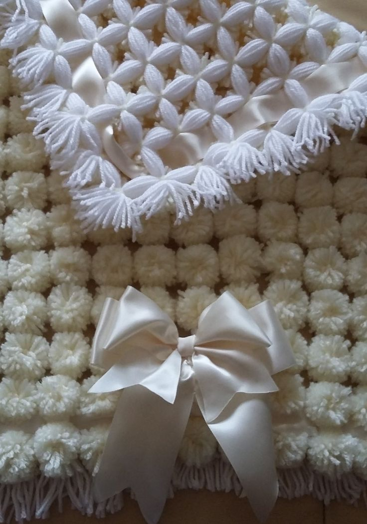 POM POM BLANKET LOOM - full step by step tutorial - PART 2 MAKING A POM ...