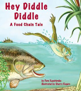 A collection of #books for your Food Chain and Food Web Literacy Stations for #Science